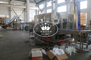 8000BPH Carbonated Soda Plastic Bottle Filling Machine