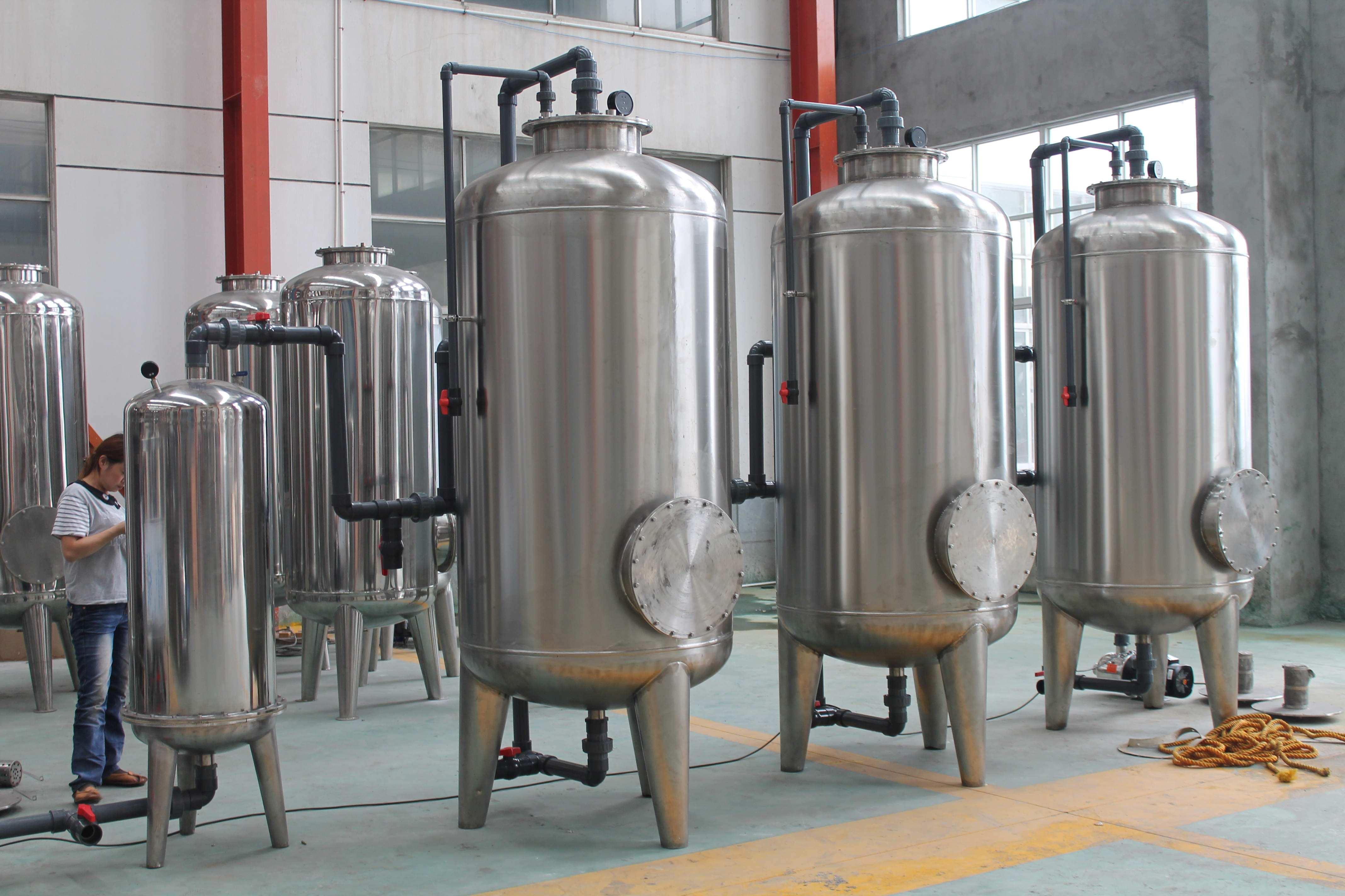 Ultra Filtration Mineral Water Treatment