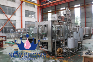 Plastic Bottle Juice Filling Machine