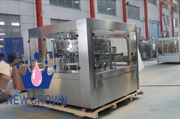 Soft Drink Canning Filling Machine