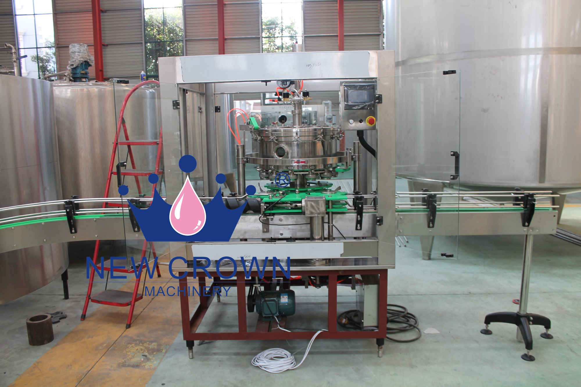 Small Scale Beer Canning Filling Machine